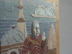 Buddha Mosaic, by Stephanie Tempest