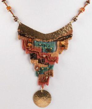Thalia Keple woven necklace