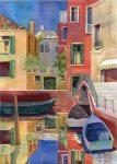 Venice, watercolor by Anne Brooke