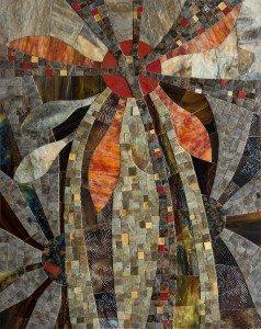 Autumn Sun, mosaic by Vera Melnyk