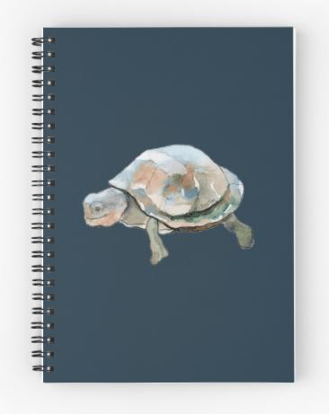 Journal notebook by Joan Franklin