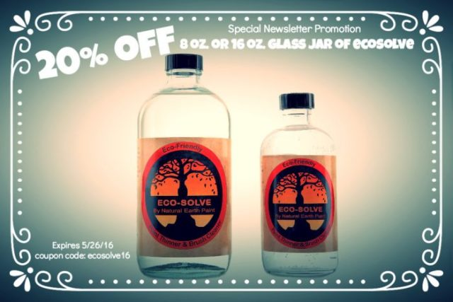 20% off Eco-Solve Now through May 26, 2016!