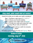 Shop Small, Paint Small Mini Art Contest Call to Artists