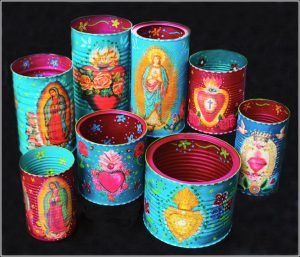 Saturday Art Workshops at Kindred Spirits : Retablo Containers Saturday Workshop with Cathy Dorris at Kindred Spirits, Talent, Oregon on July 30, 2016