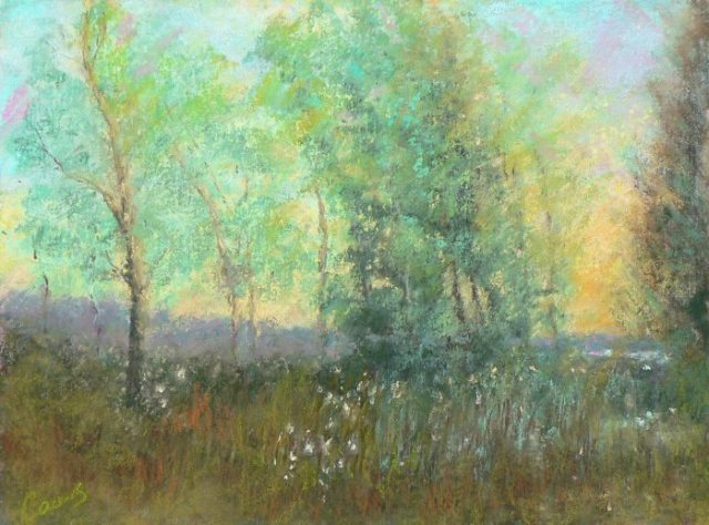 "Artists Workshop 32nd annual show & sale : ""Into the Gloaming,"" pastel by Artists Workshop member Peter Coons"