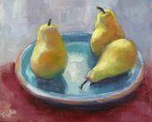 Mastering Composition through Still Life with Silvia Trujillo : Three You Are, still life in oil by Silvia Trujillo