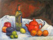 Mastering Composition through Still Life with Silvia Trujillo : till life in oil by Silvia Trujillo