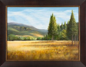 Oil Painter Connie Fribance is Featured Artist this March at Art du Jour Gallery in Medford, Oregon