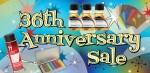 central art supply 36th anniversary sale 2017