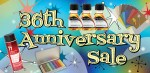central art supply 36th anniversary sale 2017