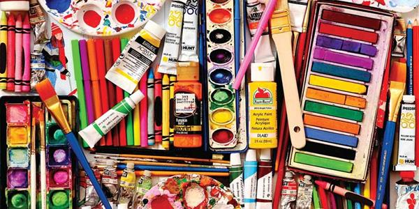 central art supply 6th- annual art extravaganza - image of art supplies