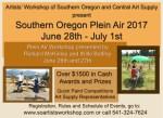 Southern Oregon Plein Air 2017 Event announcementwww.soartistsworkshop.com