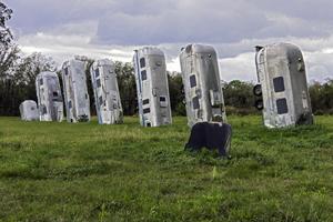 Glassman tom Stonehenge USA