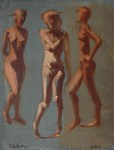 Figure Drawing Workshop with Bobbi Baldwin at Central Art Supply, July 7, 2017