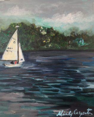 Emigrant Lake by Mindy Carpenter