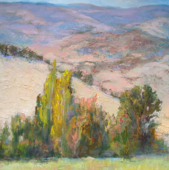 Talented Hills, Oil painting by Silvia Rothschild Trujillo