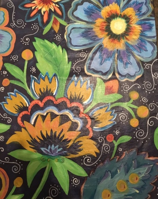 Kindred Spirits Flower Floor Mat workshop