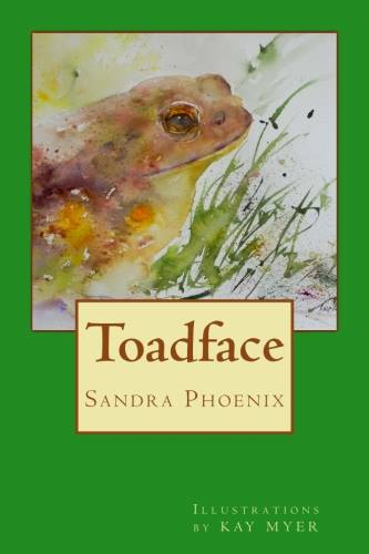 Toadface, cover art by Kay Myer for book by Sandra Phoenix