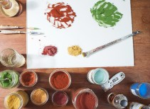 Natural Painting Workshop in Italy! Natural earth pigments