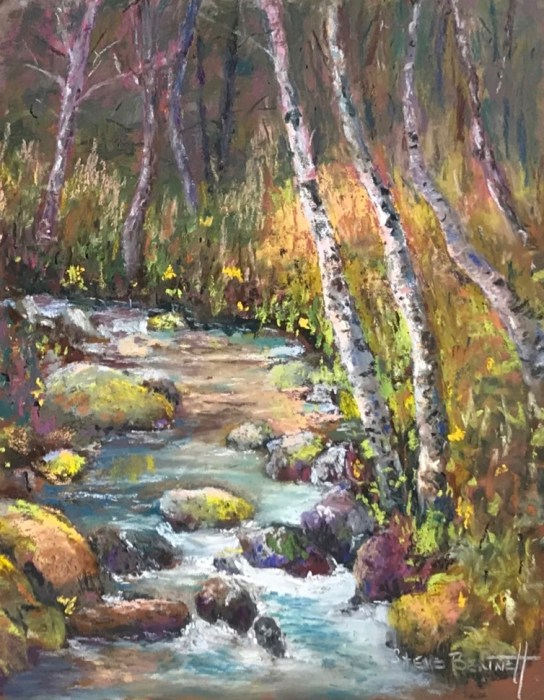 'LITHIA WATER' Pastel By Steve Bennett