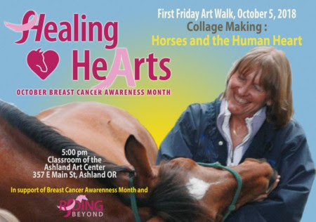 Riding Beyond  Healing HeArts – Breast Cancer Awareness and Fundraiser
