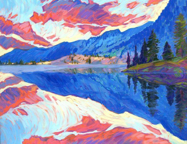 Ashland's First Friday Art Walk, April 3rd: Jessica Johnson, Still Mind, oil painting