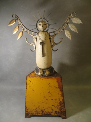 Angels show : Untitled Angel, assemblage by Leona Sewitsky