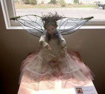 Angels show : Forest Angel, porcelain doll by Mindy Valpey
