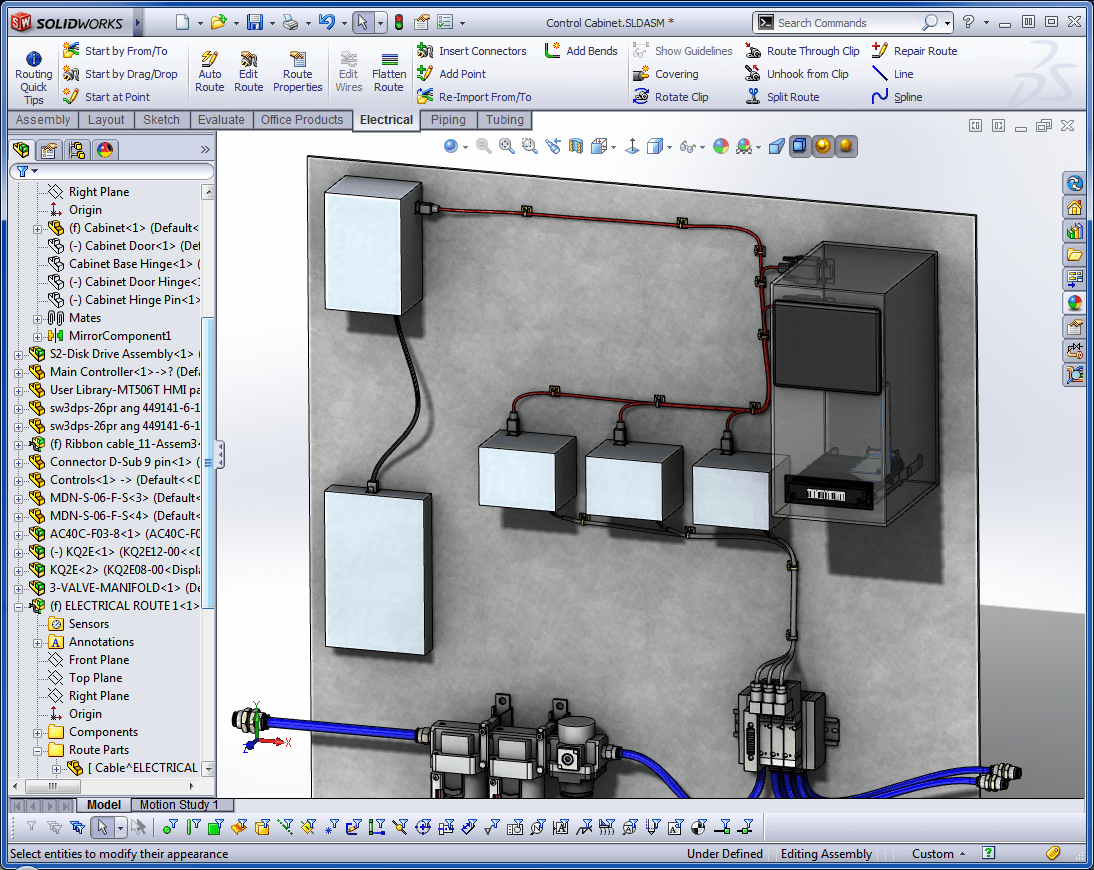 hight resolution of solidworks routing putting power into your designs