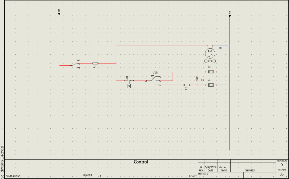 medium resolution of basics of drawing schematics in solidworks electrical 2d hvac diagram drawing template