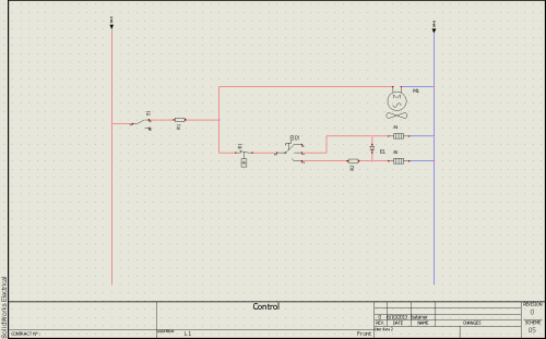 small resolution of basics of drawing schematics in solidworks electrical 2d hvac diagram drawing template