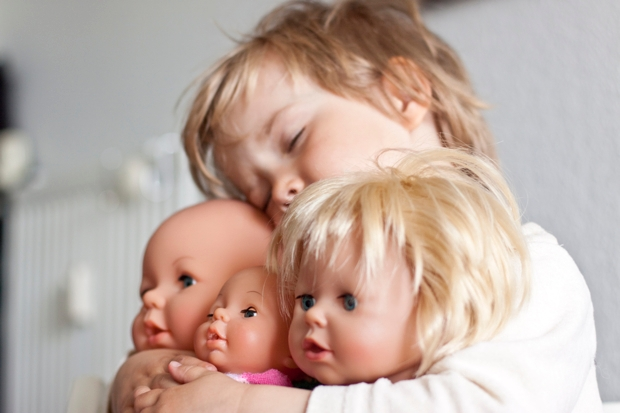 A boy who plays with dolls is not trans or dysphoric - he's just a boy who plays with dolls