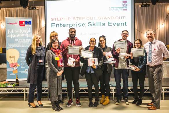 Runners - up at GEW 2016