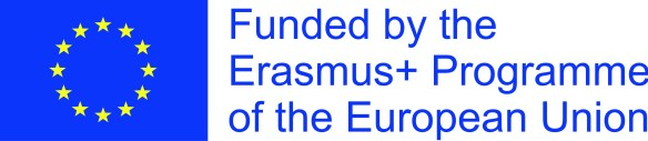 Funded by the Erasmus+ Programme of the European Union and EU flag logo