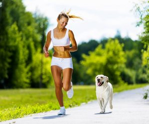 Running with pet