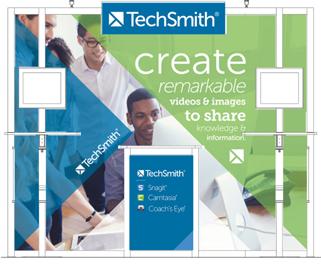 TechSmith Booth Layout