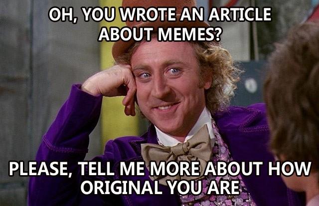 Wonka Meme