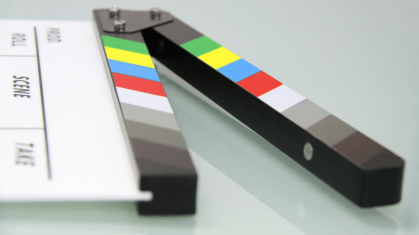 image of a clapboard