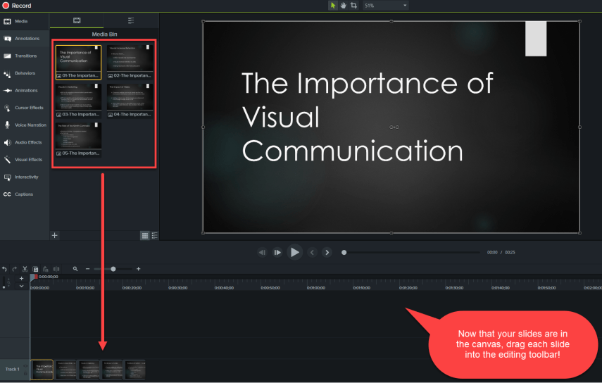Turn Your Slides Into Powerpoint Videos With Editing Effects Blog
