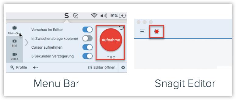 Bildschirmfoto-Mac-Snagit