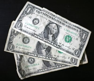 Image result for three dollars
