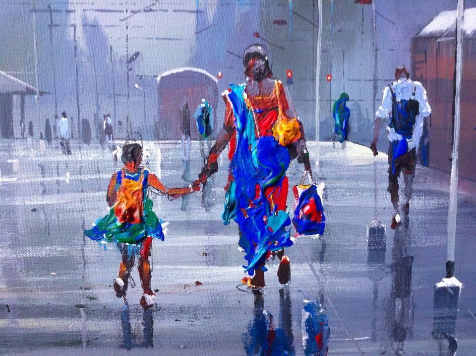 Colorful Fall Scene Wallpaper Meet Bijaya Biswal The Railways Tte Whose Art Inspires Pm
