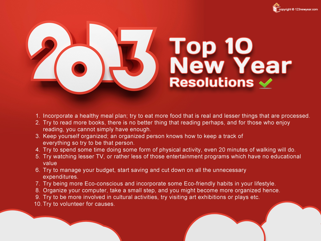India A Time For New Year Resolutions