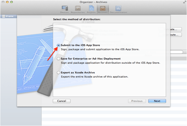 upload app from XCode | Waves @ Triffort