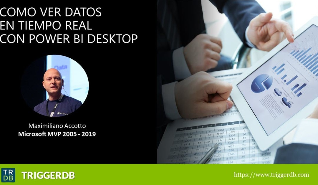 Power BI Desktop refrescar datos en las paginas en tiempo real