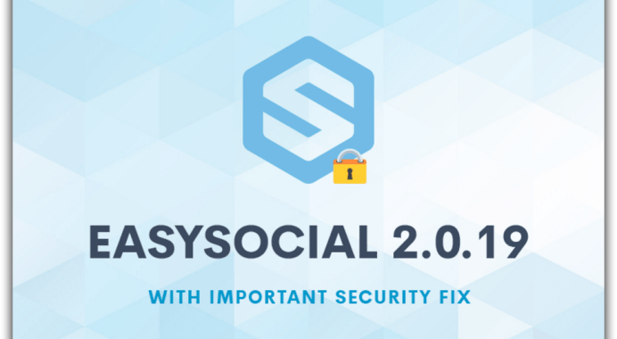 XSS – Security Update For EasySocial 2.0.19