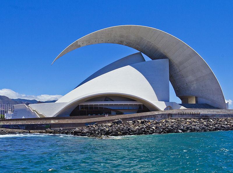 Resultado de imagen de estacion de Tenerife calatrava