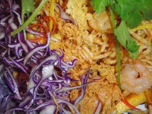 Mee Grob: crispy noodle