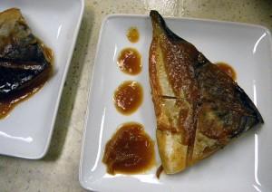Japanese-style mackerel in miso