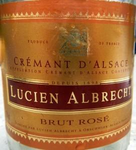 Lucien Albrecht 'Crémant d'Alsace' Brut Rosé